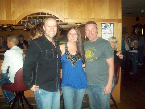 After a recent show with Todd McComas.